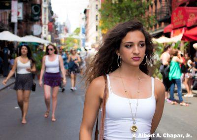 New York Model, Sophia Chapar, Little Italy