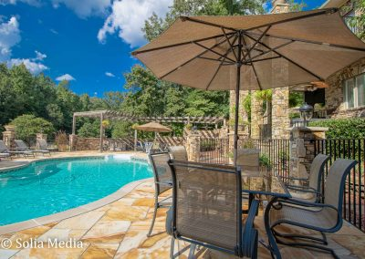 Lovely Pool Area Rockdale County