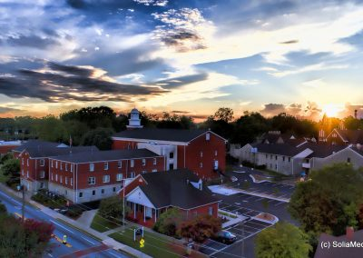 Olde Town Conyers - Conyers Methodist Church - Solia Media Photography