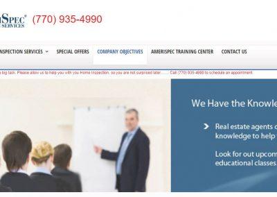 Amerispec Website