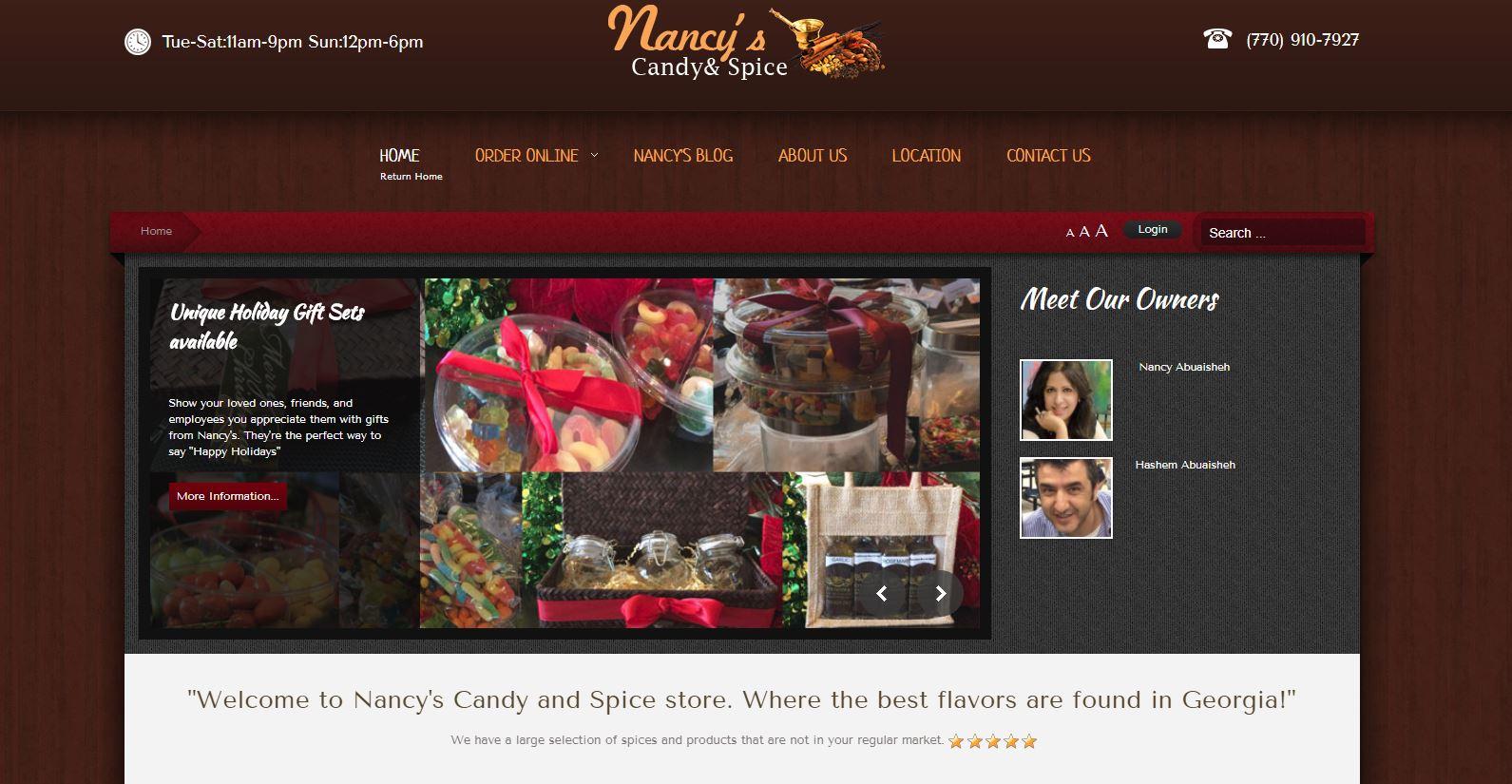 Nancy's Candy N Spice