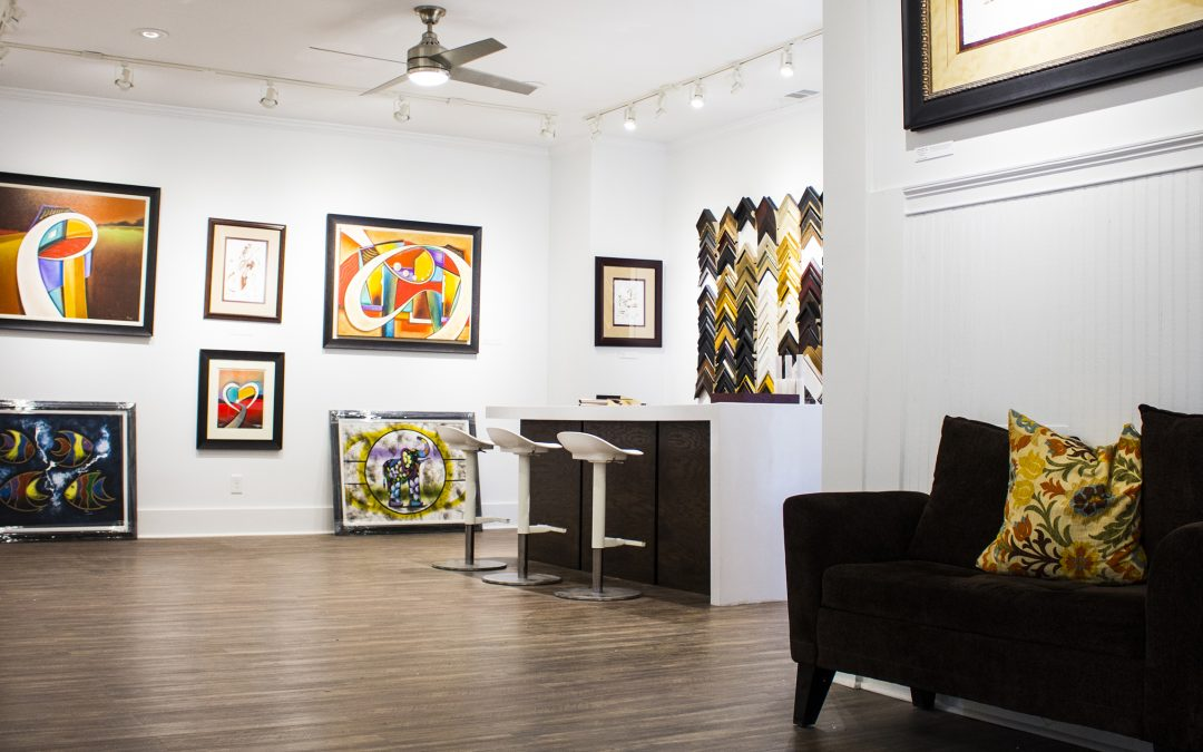 New Solia Media Website for Reed\'s Custom Framing and Art Gallery