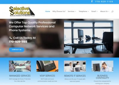 Solia Media Designs New Website for Selective Solutions, LLC