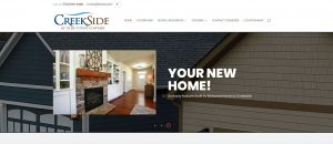 Solia Media Website for Creekside Conyers Active 55+ community