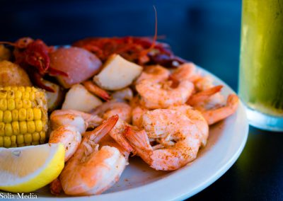 Solia Media Food Photography - Whistlepost Tavern Shrimp and Crawfish