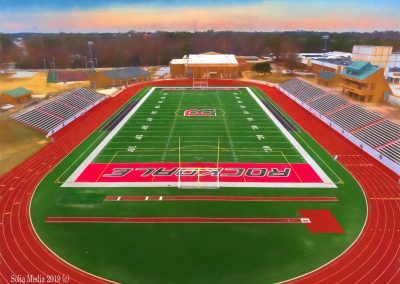 Solia Media Best Drone Photography Conyers, Covington, Rockdale, Monroe, East Atlanta - Reid Stadium Rockdale County Georgia High School