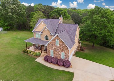 Solia Media Drone Work Best Real Estate Photos Conyers, Rockdale, Newton, Covington Solia Media - 450 East End Front