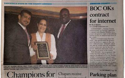 Solia Founder Nadine Kirma Chapar Honored for Service