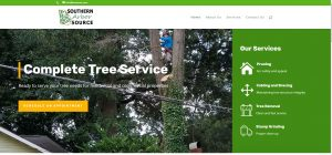 Solia Media Designs New Website for Southern Arbor Source - Top Tree Removal, Pruning, Cabling and Bracing, Stump Grinding