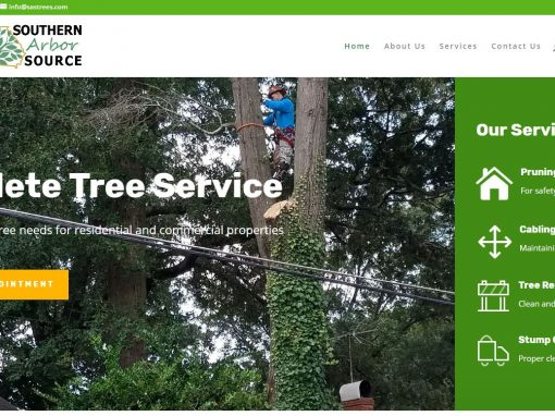 Solia Media Designs New Website for Southern Arbor Source