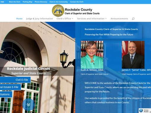 Solia Media Deploys New Website for the Rockdale County Clerk of Court