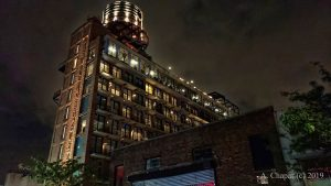 Williamsburg Hotel at Night by Albert Chapar of Solia Media - the Beauty of Brooklyn New York