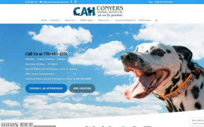 Solia Develops New Website for Conyers' Best Vets: Conyers Animal Hospital