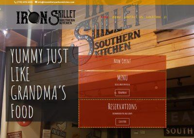 Iron Skillet Southern Kitchen