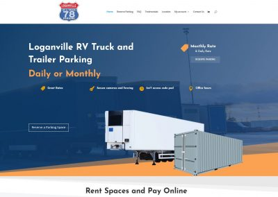 Loganville RV Truck and Trailer Parking